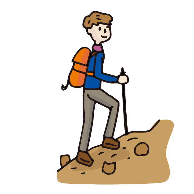 週末は山登りで自然を満喫するビジネスパーソンが、なんとなくカッコイイ